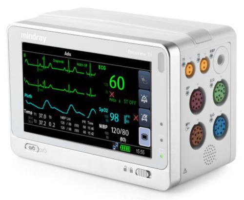 Monitor de paciente portátil Beneview T1 Mindray