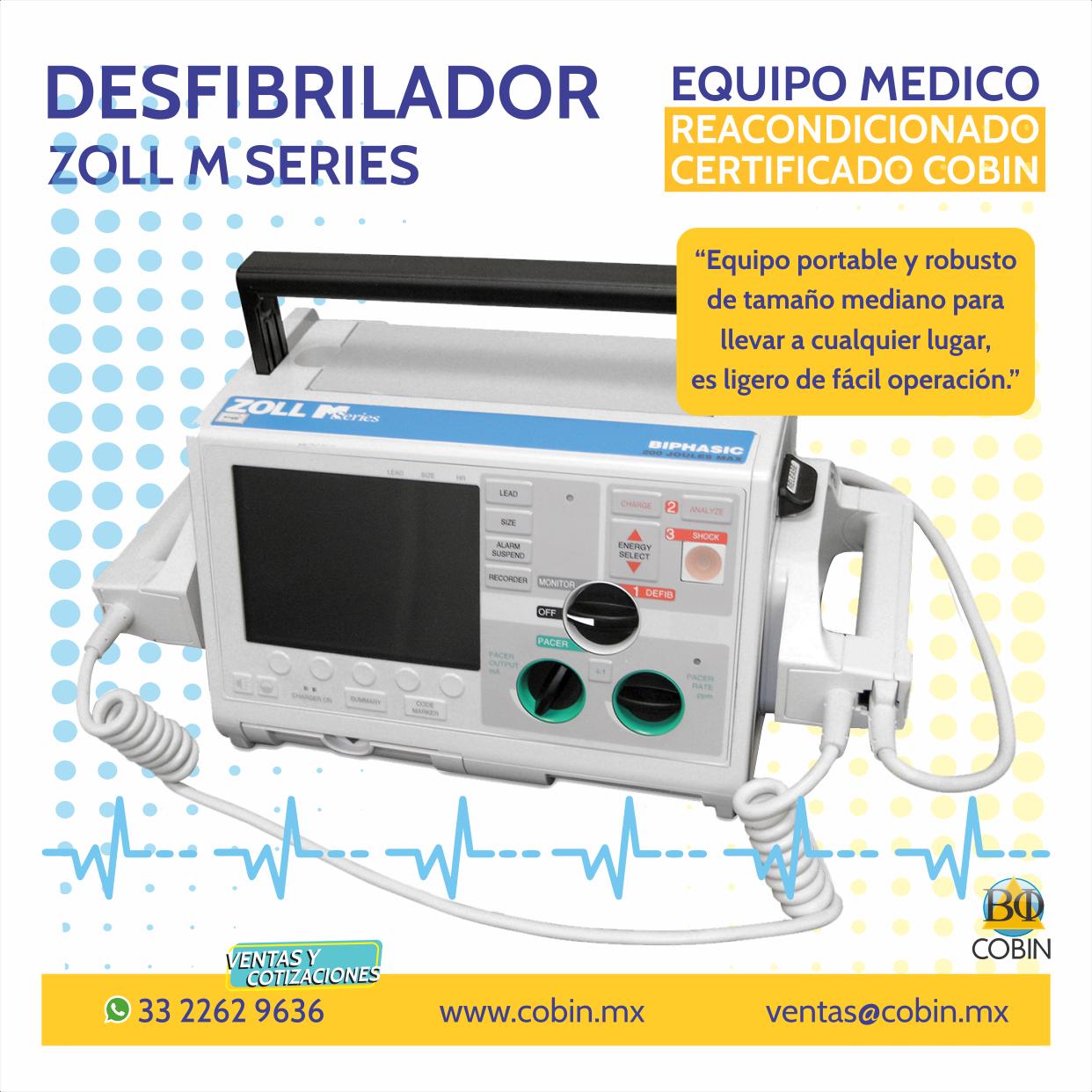 Desfibrilador Zoll  M Series