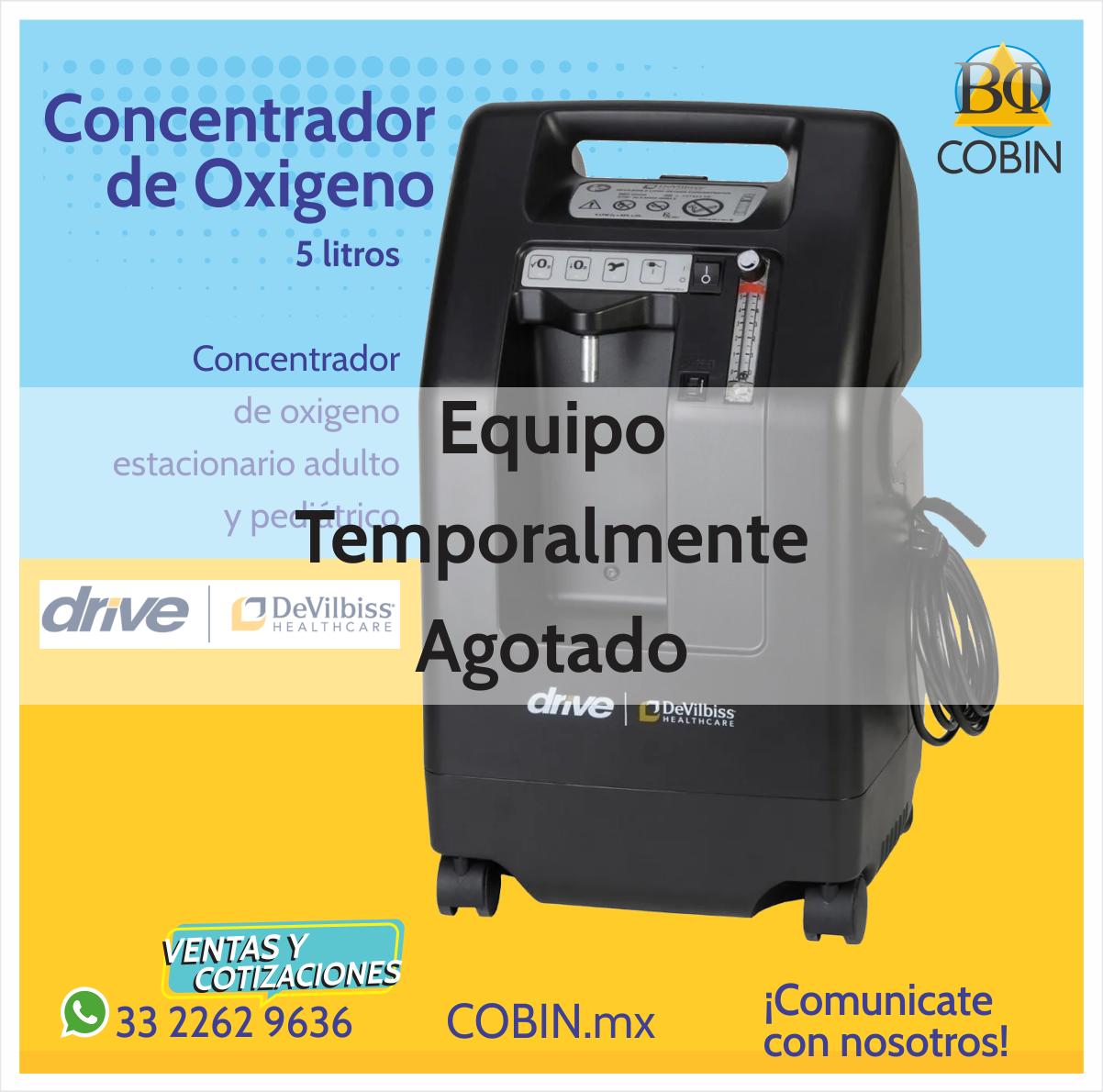 Concentrador de Oxigeno 5 lt. DeVilbis