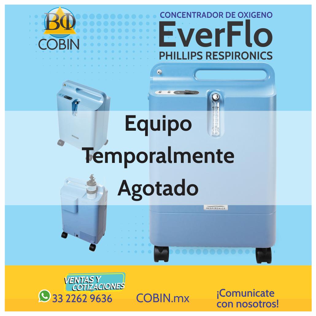 Concentrador de Oxigeno Everflo Phillips